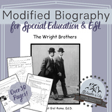 Modified ELA Unit: The Wright Brothers Biography