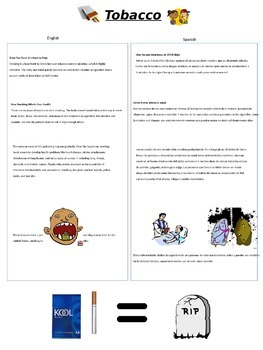 Modified ESOL Health Project Packet