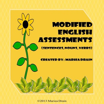 Modified English Assessments