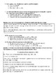 Modified Enlightenment Unit Test and Answer Key
