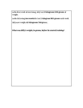 Modified Eureka Math End-of-Module Assessment 4-2