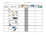 Modified Fitness Tracker Sheet (FITNESSGRAM or VA Wellness)