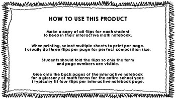 Modified Frayer Model Flip for Interactive Notebooks *FREEBIE*