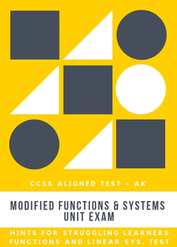 Modified Functions Test