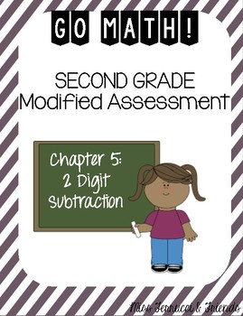 Modified GoMath Test - Grade 2, Chapter 5