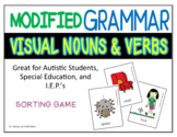 Modified Grammar (Visual Nouns and Verbs) Great for Autist