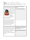 Modified Graphic Organizer on Colorism Reading -Culturally responsive learning
