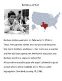 Modified Materials: Barbara Jordan Biography