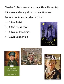 Modified Materials: Charles Dickens Biography