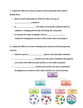 Modified Matter Study Guide