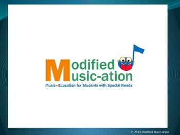 Modified Music + Education for Students with Special Needs