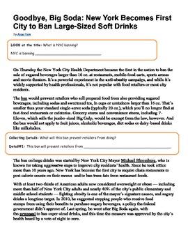 Modified Nonfiction Articles