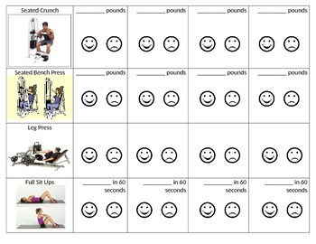 Modified PE Fitness Center Workout-Part 2