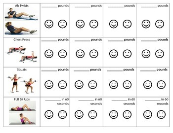 Modified PE Fitness Center Workout-Part 3