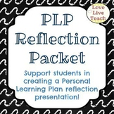 PLP Reflection Packet/slideshow for Special Education