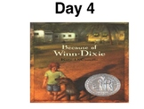 Modified Reading Street 4th grade Because of Winn Dixie in