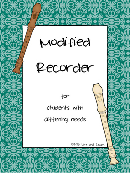 Modified Recorder for Special Students