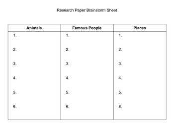 Modified Research Project
