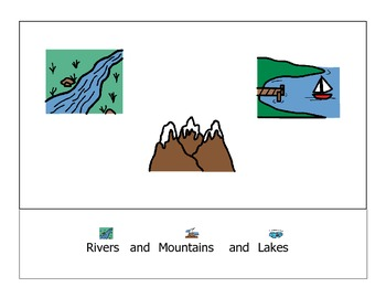 Modified Rivers, Mountains and Lakes Story