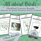 Modified Science Bundle: All about Birds