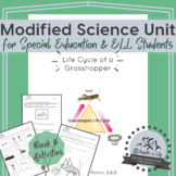 Modified Science Unit: Life Cycle of a Grasshopper