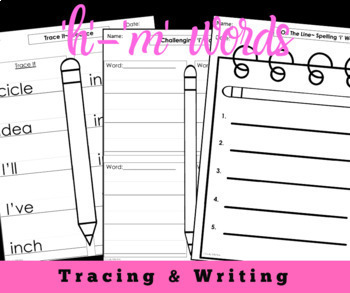 Modified Spelling Activities For 4th  Grade Bundle 1 {'h' - 'm'  words}