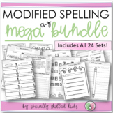 Modified Spelling Activities || MEGA BUNDLE || For 4th Grade