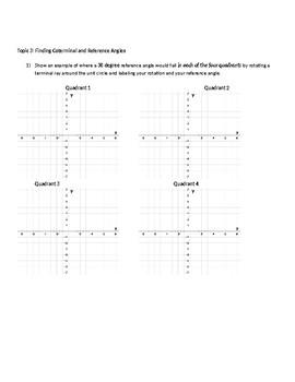 Trigonometry Unit Test (Modified)