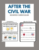 Modified U.S. History - After the Civil War - Special Education