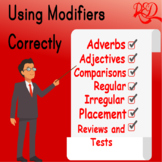 ⭐Using Adverbs | Adjectives | Modifiers | Grammar Workshee