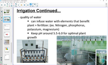 Modifying an Environment to Increase the Yield of a Plant