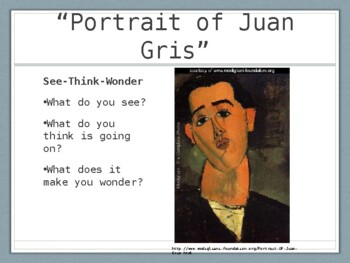 Modigliani Portraits PowerPoint Presentation