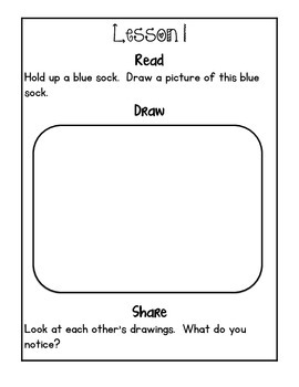 Kindergarten Module 1 Application Journal