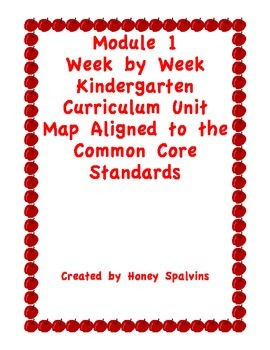Module 1 Curriculum Map Aligned to the Common Core Standards