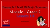 Module 1 Engage NY Math Bitmoji Rooms (Grade 2)