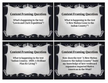 Wit & Wisdom Module 1 Content Framing Questions