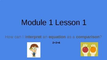 Module 1 Lesson 1 4th Grade Math! (Editable)