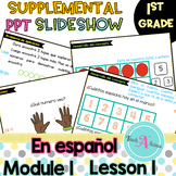 Module 1 Lesson 1  (Using 5-groups & number bonds) in Spanish