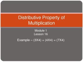 Module 1, Lesson 16 - Math - Third Grade - Common Core NYS