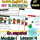 Module 1 Lesson 4  (Represent put together and Counting on