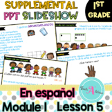 Module 1 Lesson 5  (Represent put together and Counting on