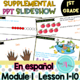 Module 1 Lessons 1-10 Daily Interactive Presentation | in Spanish