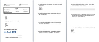 Module 1 Mid Module Test and Review (Ratios and Proportions) Grade 6