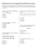 Module 1 Topic A Test