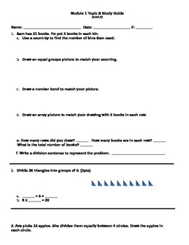 Module 1 Topic B Study Guide