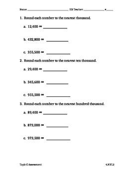 Module 1 Topic C Assessment