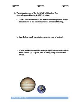 Module 1 Topic E Assessment