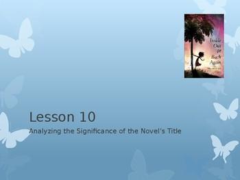 Module 1 Unit 2 Lesson 10