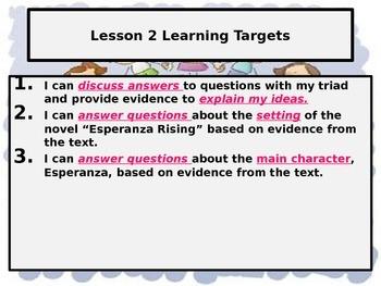 Module 1: Unit 2, Lesson 2