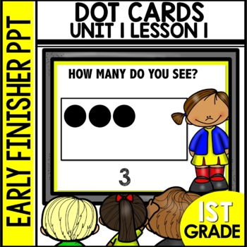 Early Finishers Activities | Dot Cards | How Many |Module 1 lesson 1